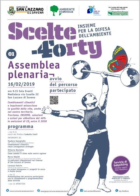 Sabato 16 2 Scelte Forty  assemblea con i cittadini per soluzioni Resilienti 8e45cfee90d